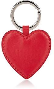 Barneys New York WOMEN'S HEART KEY RING-RED