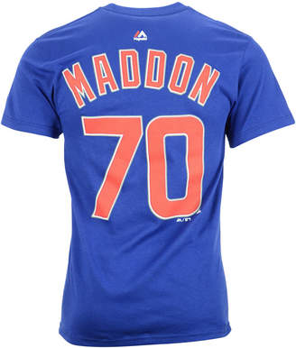 Majestic Men Joe Maddon Chicago Cubs Player T-Shirt