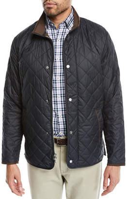 Peter Millar Men's Suffolk Quilted Car Coat