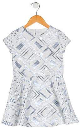 Catimini Girls' Patterned Dress