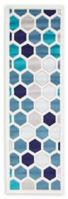 Bed Bath & Beyond Unique Loom Metro Honeycomb 6'7