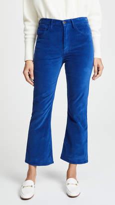 3x1 Velvet Empire Cropped Bell Pants