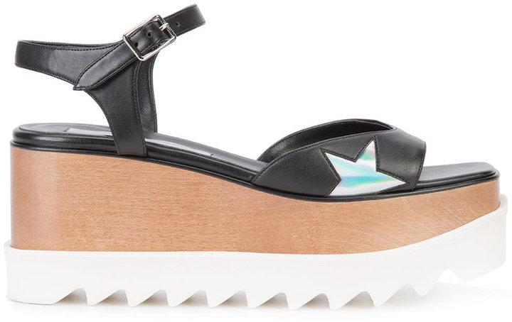 Stella McCartney Elyse star sandals