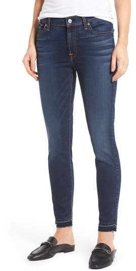 7 For All Mankind(R) b(air) Released Hem Ankle Skinny Jeans