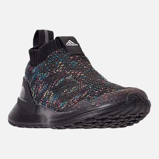adidas Boys' Little Kids' RapidaRun Laceless Knit Running Shoes