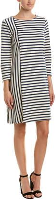 Three Dots Striped Shift Dress