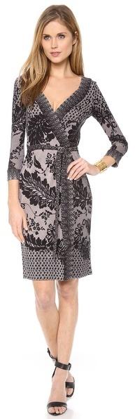 Diane von Furstenberg Inari Wrap Dress