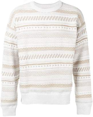Martine Rose Napa By striped sweater