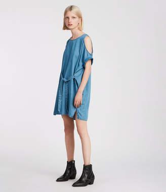 AllSaints Remi Chambray Dress