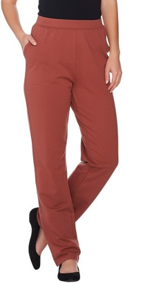 Denim & Co. Active Regular French Terry Pull-on Pants