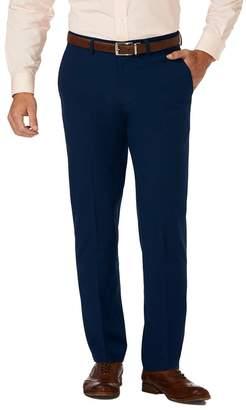 67e6880c8c1904 Haggar Gabardine 4-Way Stretch Slim Fit Flat Front Dress Pants - 29-34
