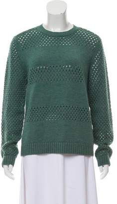Tory Burch Heavy Crew Neck Sweater