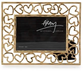 "Michael Aram Heart 4x6"" Frame"