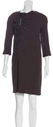 Marni Embellished Knee-Length Dress