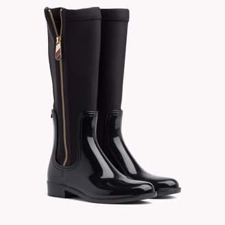 Tommy Hilfiger Mixed Media Rain Boot