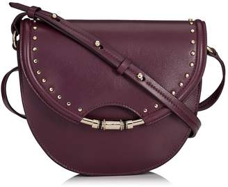 Jimmy Choo Leather Chrissy Cross Body Bag