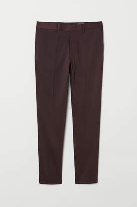 H&M Skinny Fit Suit Pants - Red