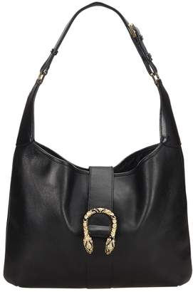 Gucci Dionysus Black Leather Handbag