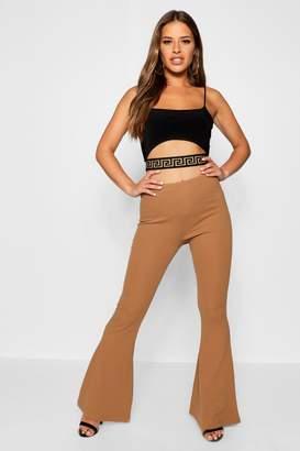 boohoo Petite Basic Stretch Skinny Flare Trouser