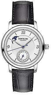 Montblanc Women's Star Legacy Stainless Steel & Alligator Strap Moonphase & Date Watch