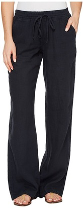 Allen Allen - Beach Linen Pants Women's Casual Pants $118 thestylecure.com
