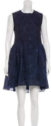 Co Textured A-Line Dress
