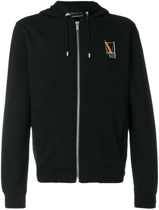 Versace geometric logo hoodie $772.97 thestylecure.com