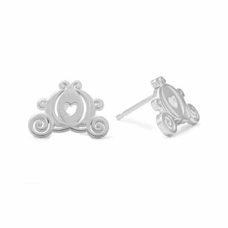 DISNEY Disney Cinderella Sterling Silver Carriage Stud Earrings $99.98 thestylecure.com