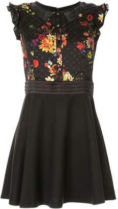 Loveless floral print dress