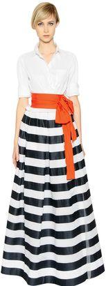 Sara Roka Cotton Poplin & Crinoline Dress