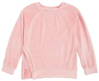 Splendid Velour Sweatshirt