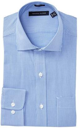 Tommy Hilfiger Mini Houndstooth Print Regular Fit Shirt