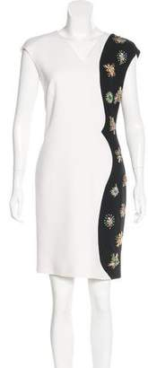 Emilio Pucci Virgin Wool Embellished Dress