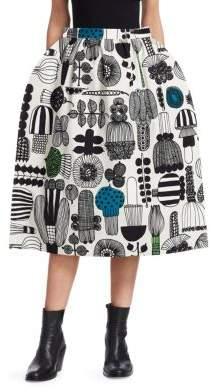 Junya Watanabe Printed Midi Skirt