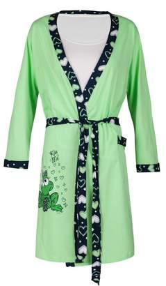 Happy Mama Boutique Happy Mama. Womens Maternity Frog Nightie / Pyjamas / SOLD SEPARATELY. 780p (, US 8, M)