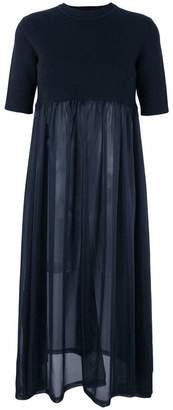 Jil Sander short-sleeve flared dress