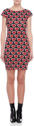 Love Moschino Printed Bodycon Tee Dress