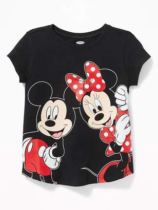 Old Navy Disney© Minnie & Mickey Mouse Tee for Toddler Girls