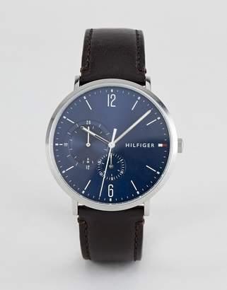 Tommy Hilfiger Brooklyn leather watch 40mm