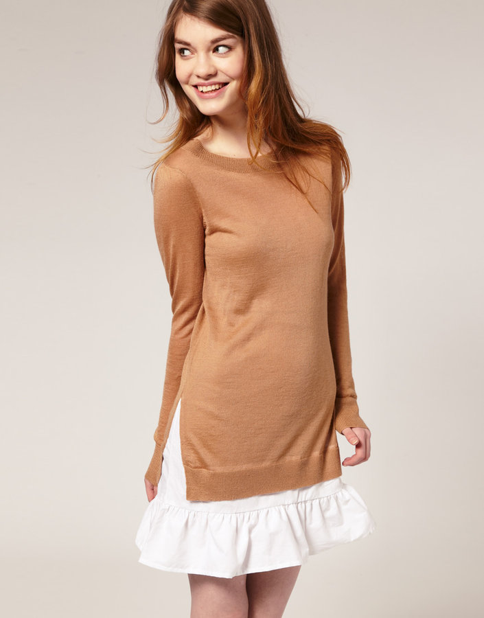 ASOS 2-in-1 Knitted Shirt Dress