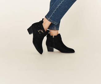 Oasis CUTOUT ANKLE BOOT