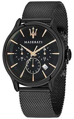 Epoca MASERATI Men's ' Quartz Stainless-Steel-Plated Fashion Watch