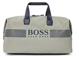HUGO BOSS Nylon holdall with waterproof zip