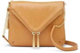 Hobo City Girl Leather Crossbody Bag