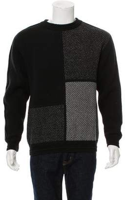 Wooyoungmi Pattern-Accented Wool Sweater