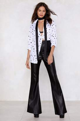 Nasty Gal Liquid Courage Flare Pants