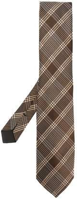 Tom Ford woven tartan tie