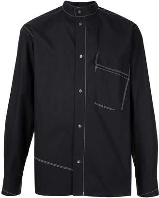 3.1 Phillip Lim contrast stitch detail shirt