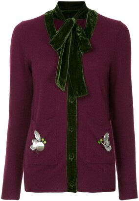 Onefifteen cashmere knitted cardigan