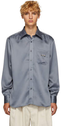 Ribeyron Grey Shiny Shirt